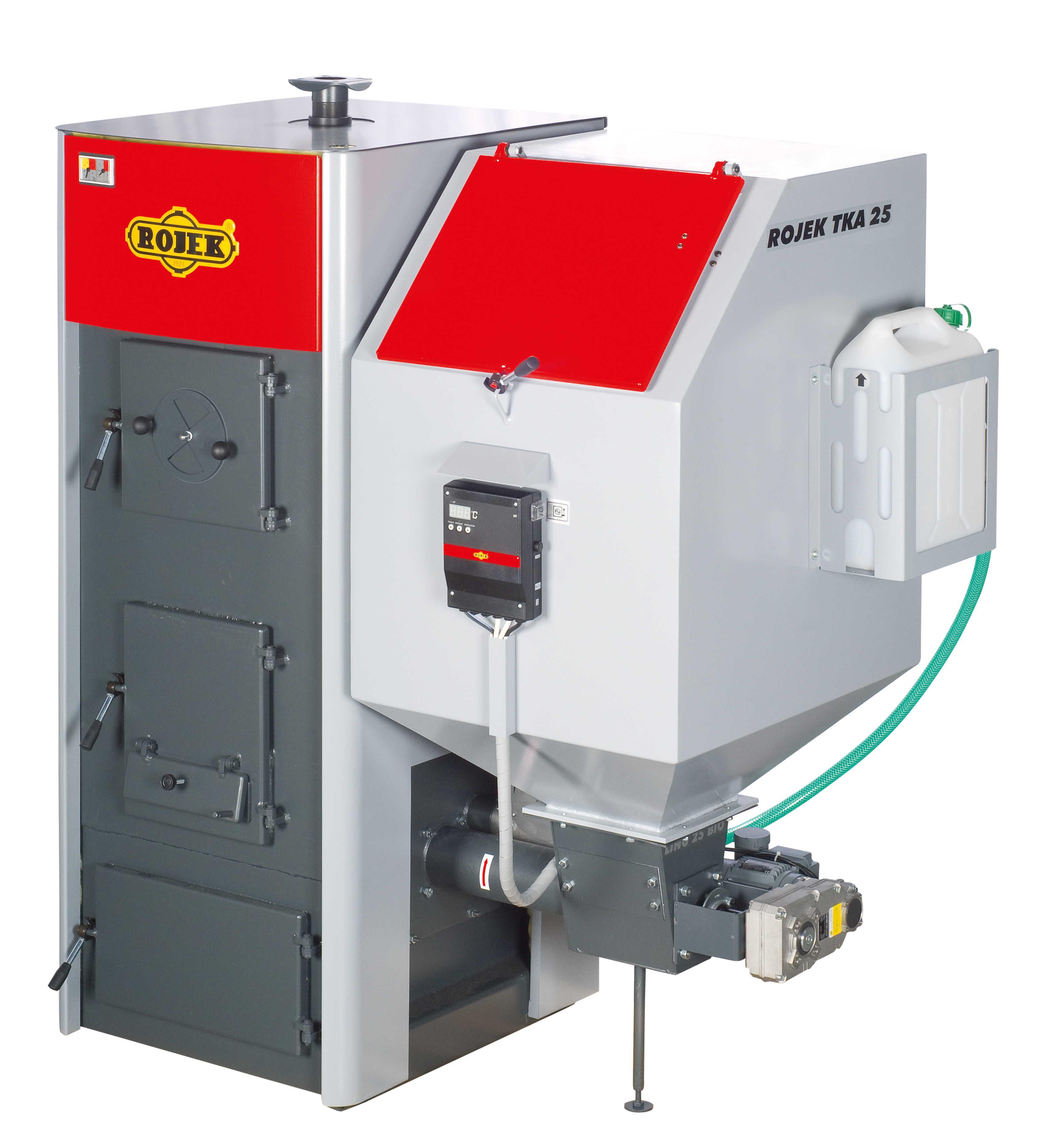 TKA 25 - automatický teplovodní kotel na tuhá paliva
