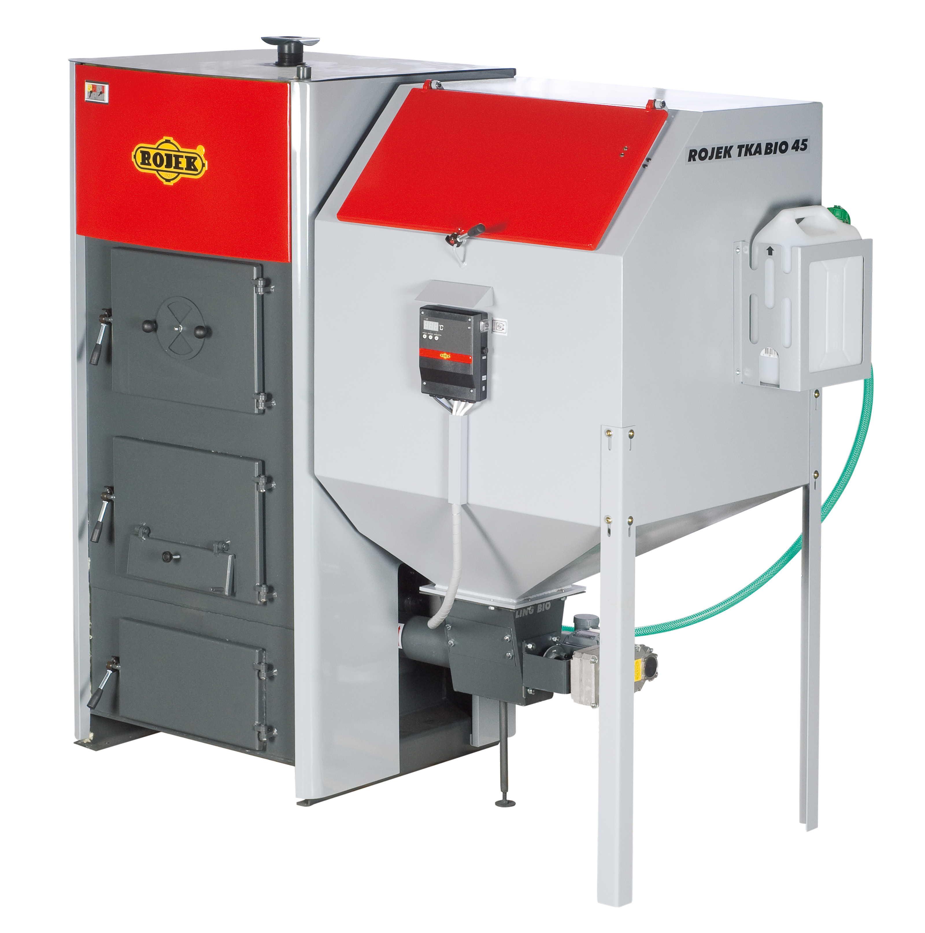 TKA BIO 45 - automatický teplovodní kotel na dřevěné pelety