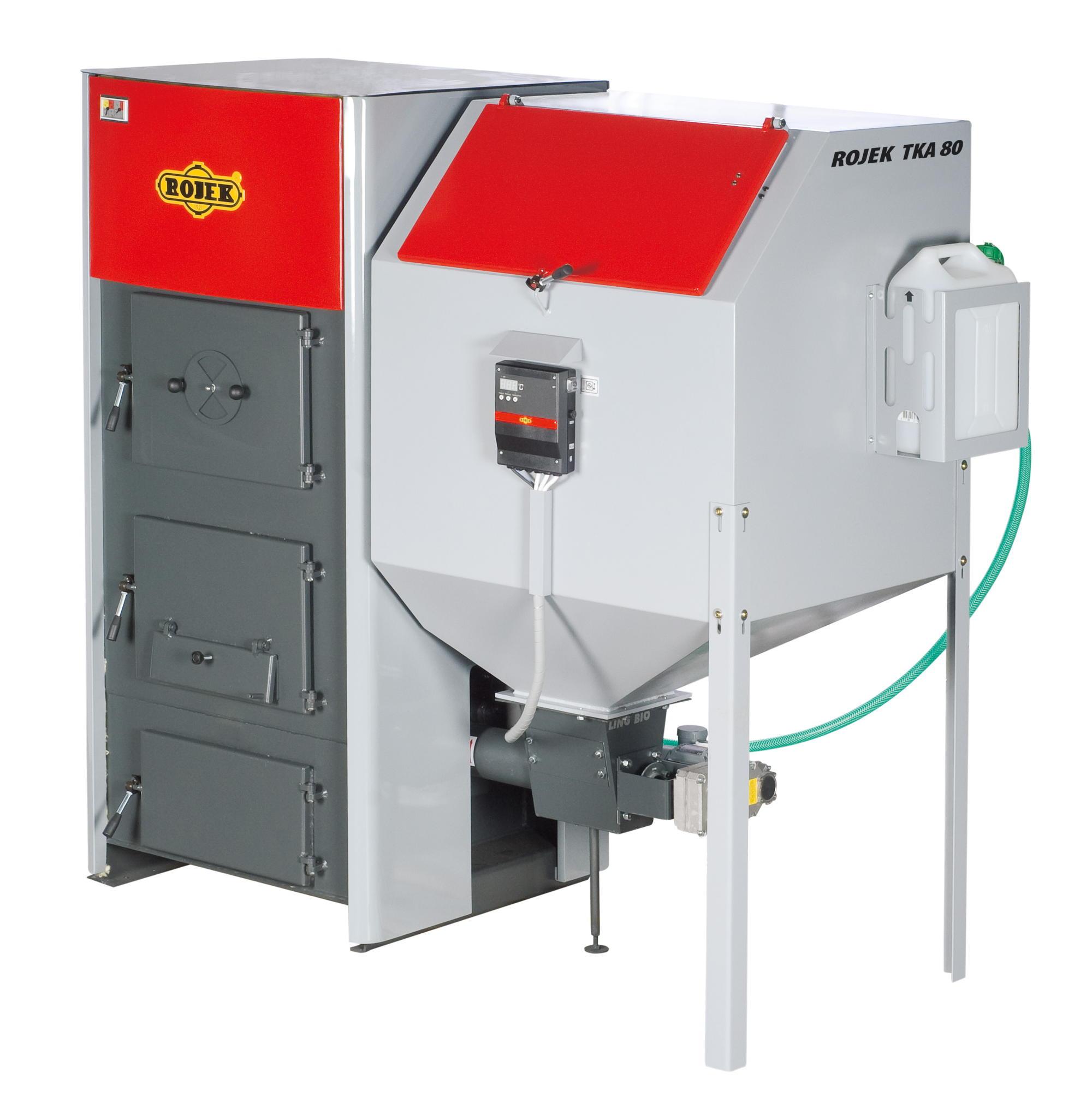 TKA BIO 80 - automatický teplovodní kotel na dřevěné pelety