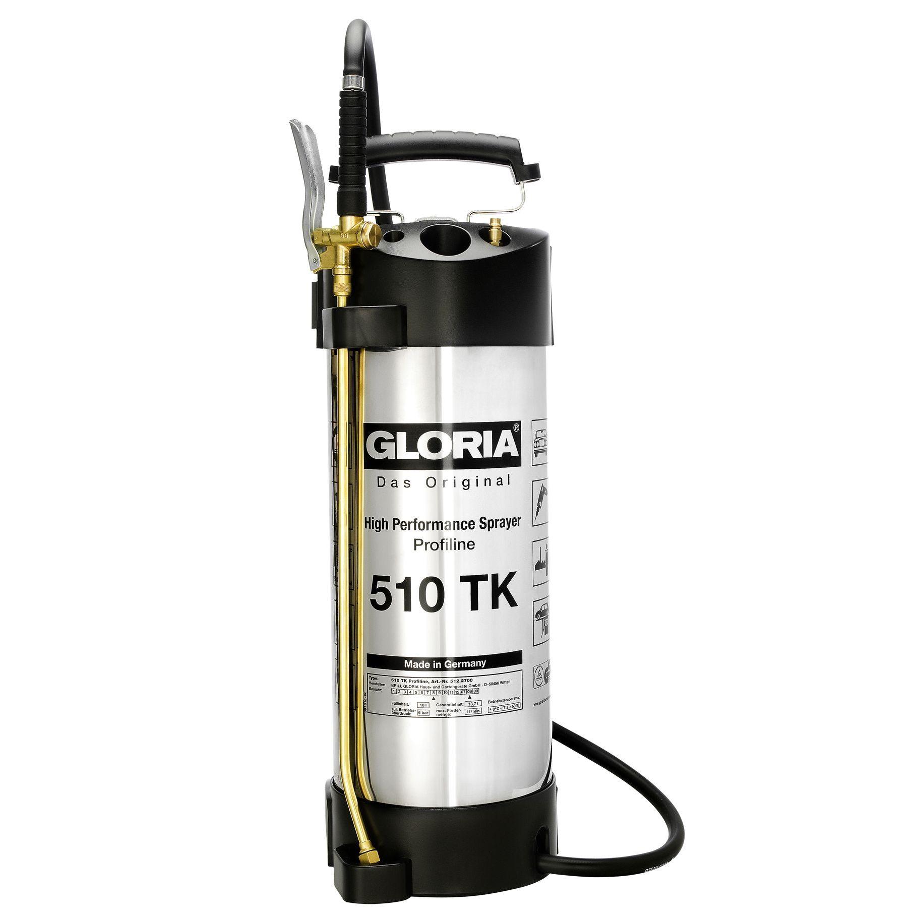 Tlakový postřikovač GLORIA 510 TK Profiline