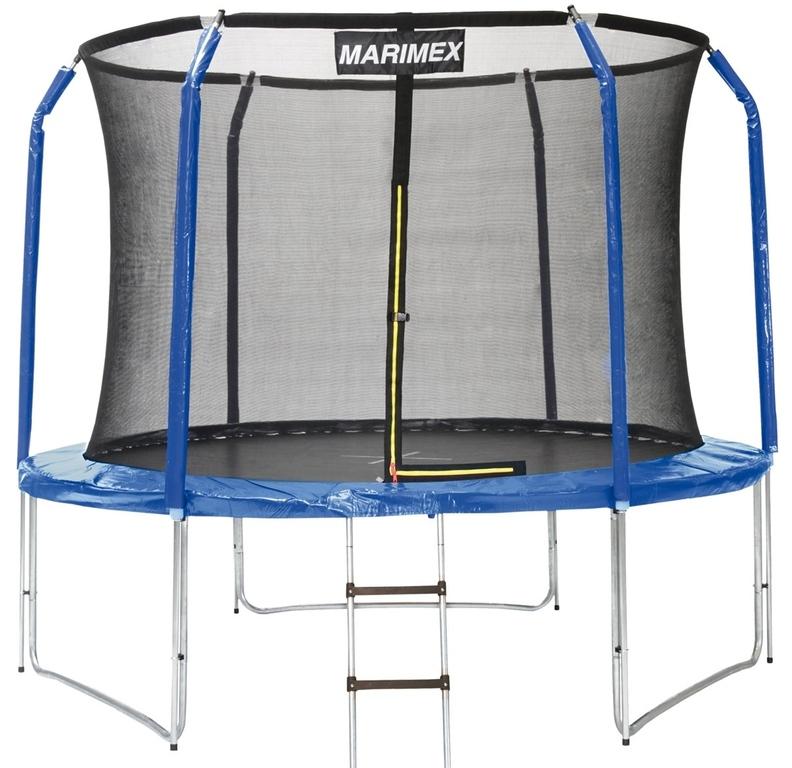 Trampolína Marimex 305 cm + ochranná síť + schůdky ZDARMA