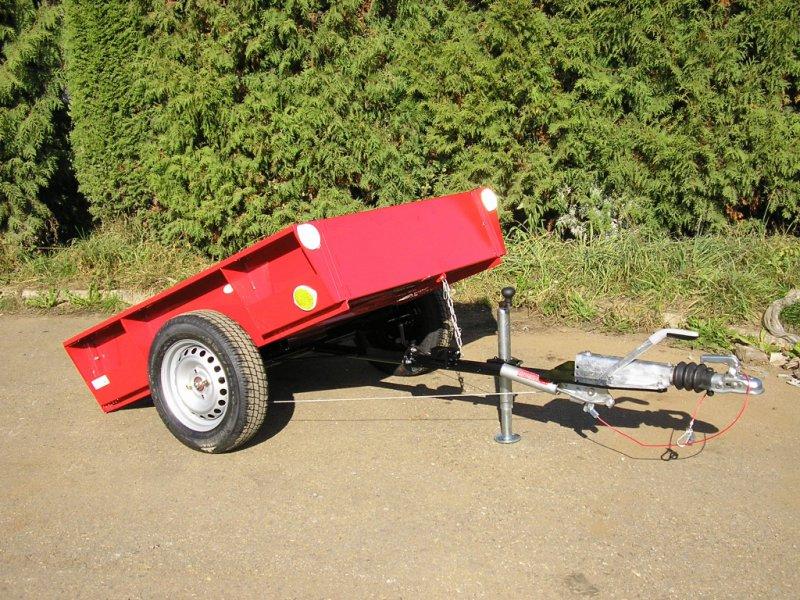 TRS 500 - vozík pro ATV s nájezdovou brzdou