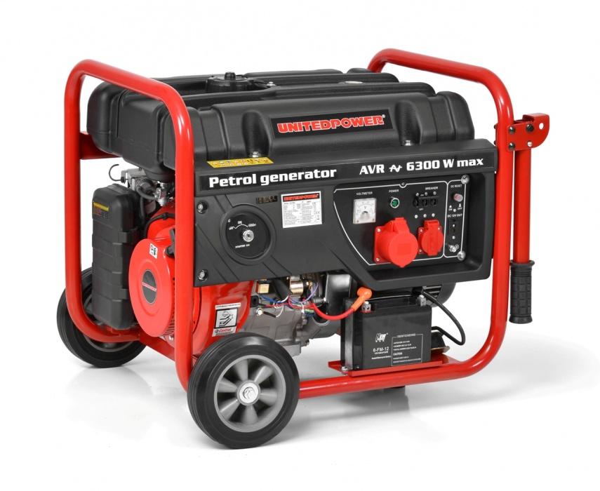 UNITEDPOWER GG 7300 - benzínový generátor proudu