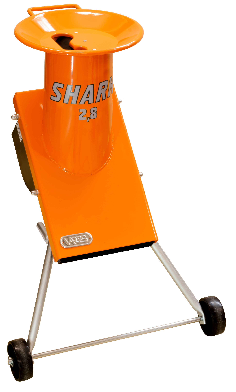 SHARK 2,8 kW - drtič zahradního odpadu