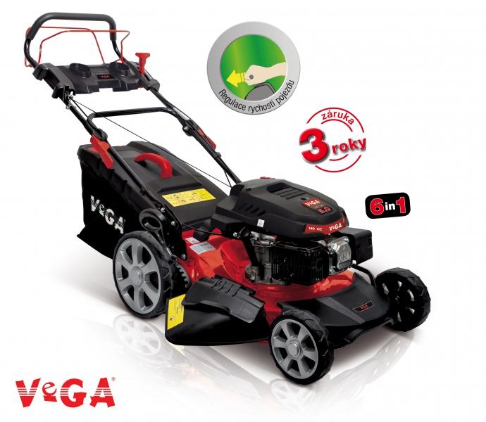 VeGA 4855 SXH 6in1 - benzínová sekačka s pojezdem + DÁREK