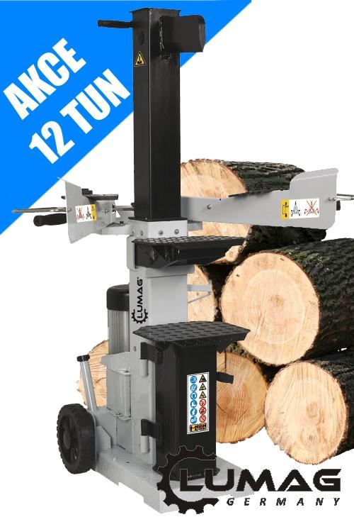 Vertikální hydraulický štípač Lumag HOS 12A