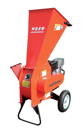 WB SH 5007 B - profesionální motorový drtič dřeva
