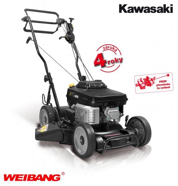 Weibang WB 476SK AL V - profesionální sekačka, 3 rychlosti, tlakové mazání + DÁREK