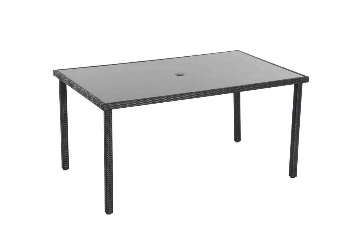 Wicke 150 - stůl s ratanovým výpletem