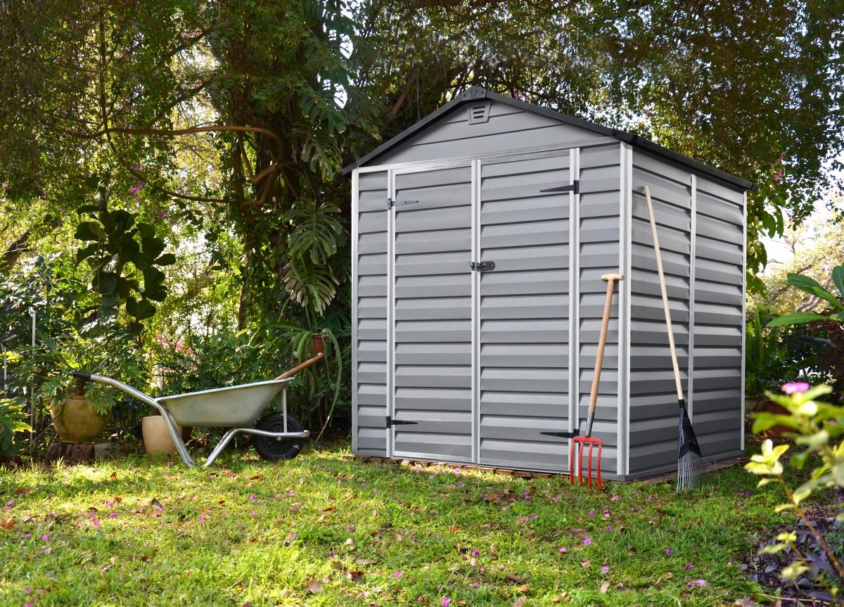 PALRAM SKYLIGHT 6 x 5 ŠEDÝ - zahradní domek