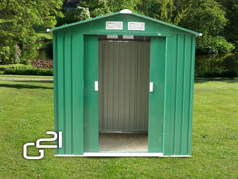 Zahradní domek G21 GAH 327 - 191 x 171 cm - zelený
