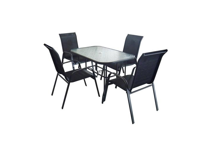 Zahradní nábytek SET stůl + 4 židle