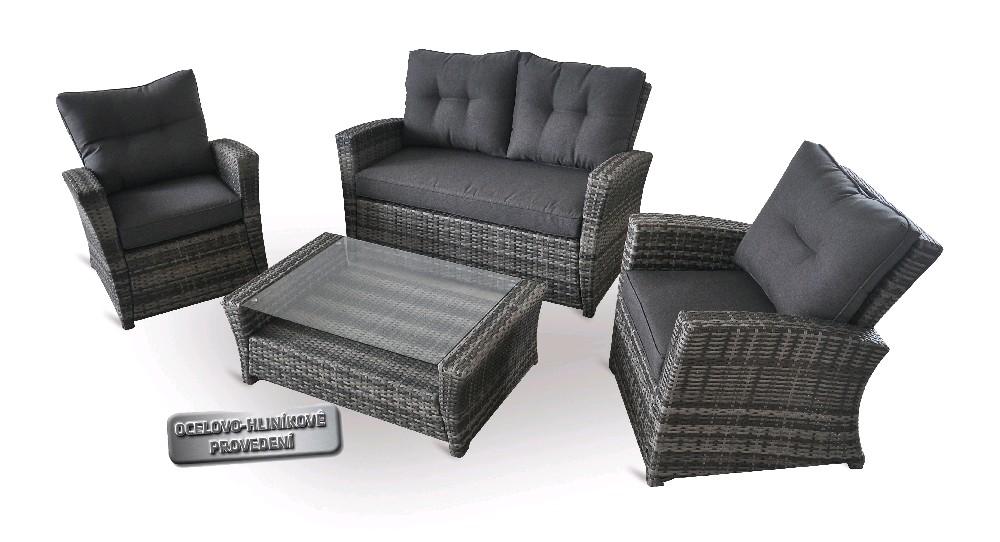 Zahradní sestava nábytku RELAX Deluxe + DÁREK