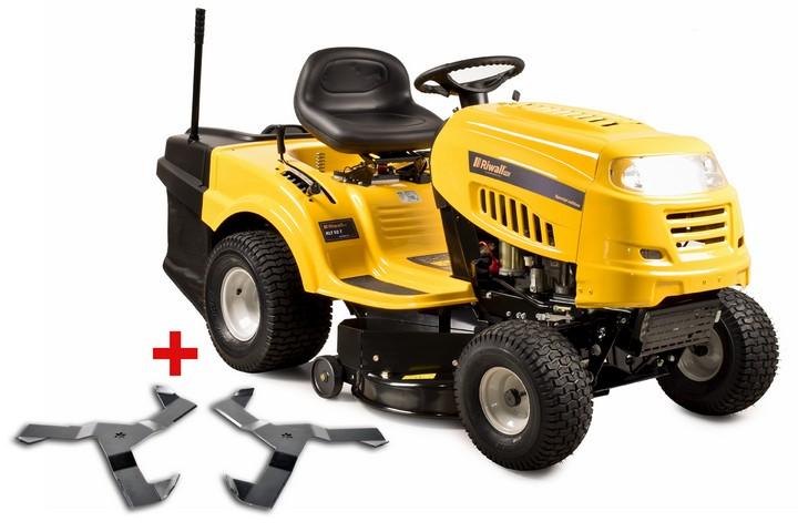 Riwall PRO RLT 92 T Power Kit - zahradní traktor s zadním výhozem