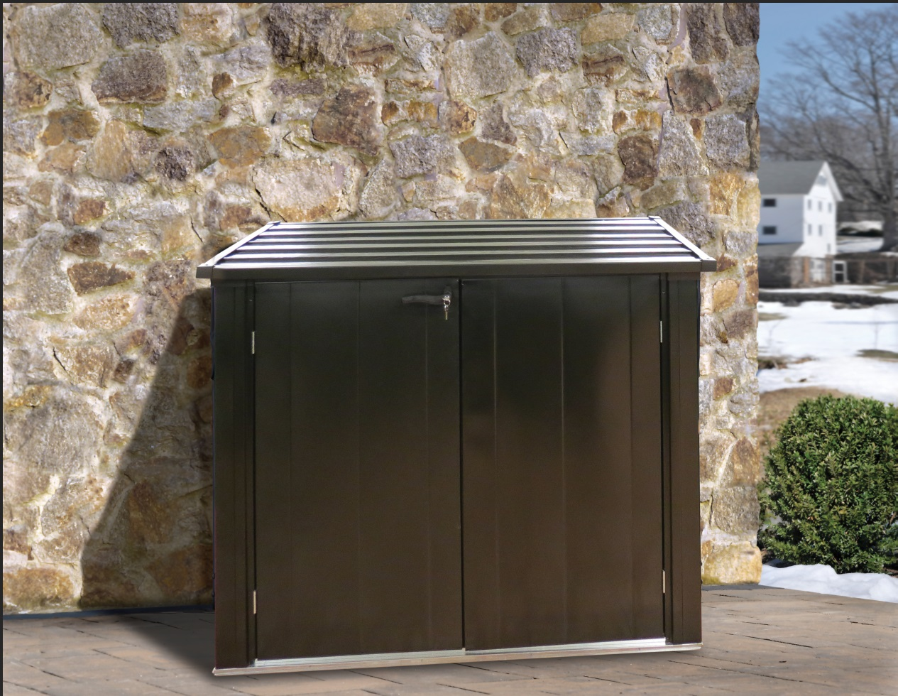 zahradní úložný box ARROW VERSA SHED 5x3